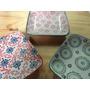 Set X 3 Platos Platito Ceramica P Servir Masas Centro Mesa