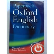 Dicionário Paperback Oxford English Dictionary 7th Edition
