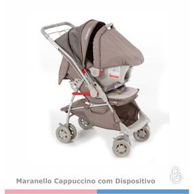 Kit Carrinho Bebê Conforto Maranello Galzerano Capuccino