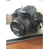 Nikon D5000 + Lente De 55 - 300mm Vr + Lente 50mm