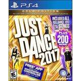 Ps4 Just Dance 2017 Gold Edition + 200 Canciones Adicionales