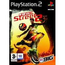 Patch Jogo Fifa Street-2 Play 2 Ps2 Playstation2 Ps2 Play2
