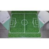 Mesas+2 Sillas Infantiles Cancha De Futbol Dia Del Niño