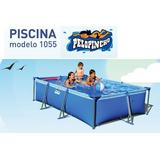 Pileta De Lona Pelopincho Mod 1055 300x200x075 Cm