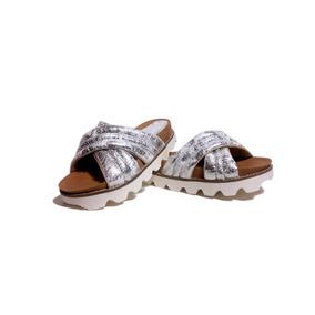 Sandalias Cruzadas Mujer Eva Bajas Moda Verano