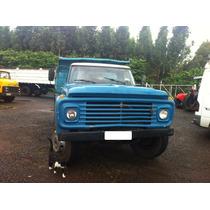 Ford F600 Ano 74 Caçamba -