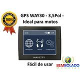 Gps Moto Carro Navcity 3,5 Pol Atualizado 2016 Fala Radar