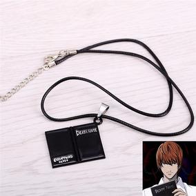 Colar Corrente Death Note Caderno Shinigami