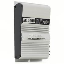 Módulo Amplificador Booster Boog Ab2000 Plus 2 Ch 140 Wrms