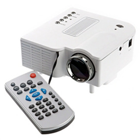 Mini Projetor Portatil Led Lcd Image Sistem 320×240 48 Lumes