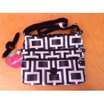 Cartera Kipling Alvar Maze Original Nueva Exclusiva