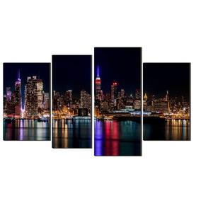 Quadro Decorativo Nova York A Noite Lançamento Jan 2016