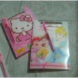 Carpeta+libreta+bolígrafo De Princesas,hello Kitty, Ben 10