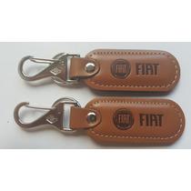 Chaveiro Em Couro Legitimo, Fiat