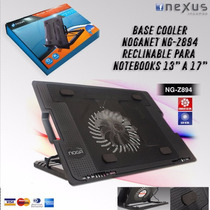 Base Refrigerante Reclinable Noganet P/ Notebooks (1 Cooler