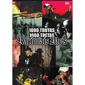 Dvd Racionais Mcs 1000 Trutas 1000 Tretas