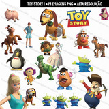 Kit Imprimible Pack Clipart Toy Story Png Transparente