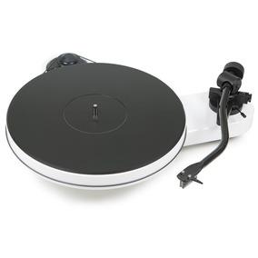 Toca-discos Vinil Pro-ject Rpm3 2m Silver Branco Laqueado