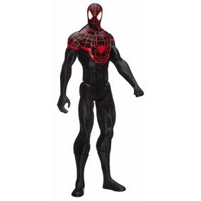 Spiderman Traje Negro Hasbro Original 30cm