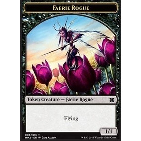Magic - 1x Token Faerie Rogue