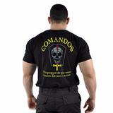 Camiseta Estampada Comandos Militar Original - Loja Oficial
