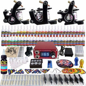 Maquina Para Tatuar Solong Tattoo Complete Tattoo Kit 3 Pro