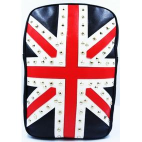 Mochila Bandeira Inglaterra Spikes Notebook Frete Grátis