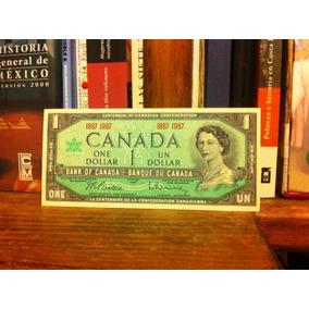 Un Dólar Canada Conmemorativo Centenario 1867-1967 Nuevo