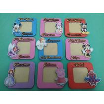 10 Souvenirs Portaretratos Cumpleaños Infantiles C/personaje