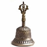 Sino Tibetano M 15cm Em Bronze India Tibet