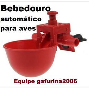 10 Bebedouro Automático Galinha Frango Codorna Galinheiro