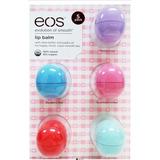 Cartela Eos Lip Balm Kit Com 05 Unidades - Original