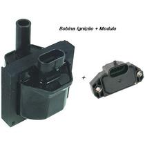 Bobina De Ignição + Modulo Ignição S10 Blazer 4.3 V6