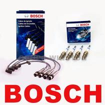 Kit Cabos E Velas Bosch Gol G3 G4 1.6 8v Flex / Gnv Sp39 127