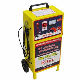 Carregador De Baterias 24a60 Kitec 12/24v Até 150ah