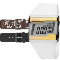 Relógio Mormaii Digital Kit Troca Pulseira Fza/n8m Original