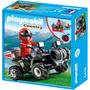 Retromex Playmobil 5429 Quad Rescate De Montaña Country