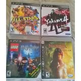 Juegos Ps3 Juegos Wwe,potter, Mortal Kombat, Gran Turismo 5