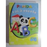 Dvd - Panda Vai A Escola - Letras Números Vocabulário
