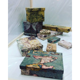 Cajas Artesalanes: 12x12x3