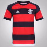 Camisa adidas Flamengo I 15/16 - Sem Patrocínio