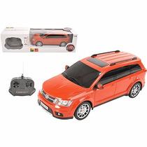 Carro De Controle Remoto Fiat Freemont Vermelho 1:18 - Cksca