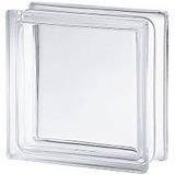 Ladrillo De Vidrio Liso Transparente