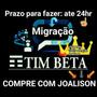 Convite Tim-beta Jovem/ Entrega Grátis