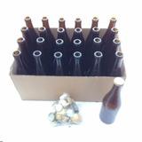 24 Botellas Ambar Euro 355ml Corcholatas Cerveza Artesanal