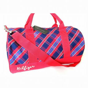 Mini Bolso Tommy Hilfiger Original 36x20 Cms Aprox 8493 Rojo