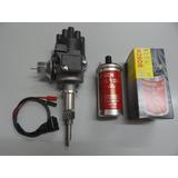 Distribuidor Electronico Chevrolet 6 Cil Y Bobina Bosch Roja