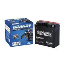 Bateria Brandy By-b14-a2 Cbx 750 / Cbf 1000 Kallu Motos