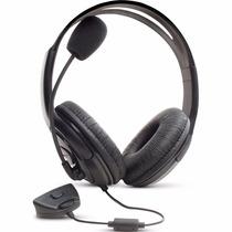 Fone De Ouvido Xbox360 Headset Microfone P/jogos Online Chat