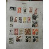 52.- Timbres Postales 1934 A 1940